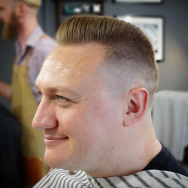 Short Flat Top Haircut