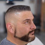 exquisite flat top haircut design