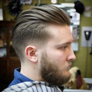 eye-catching greaser hair styles