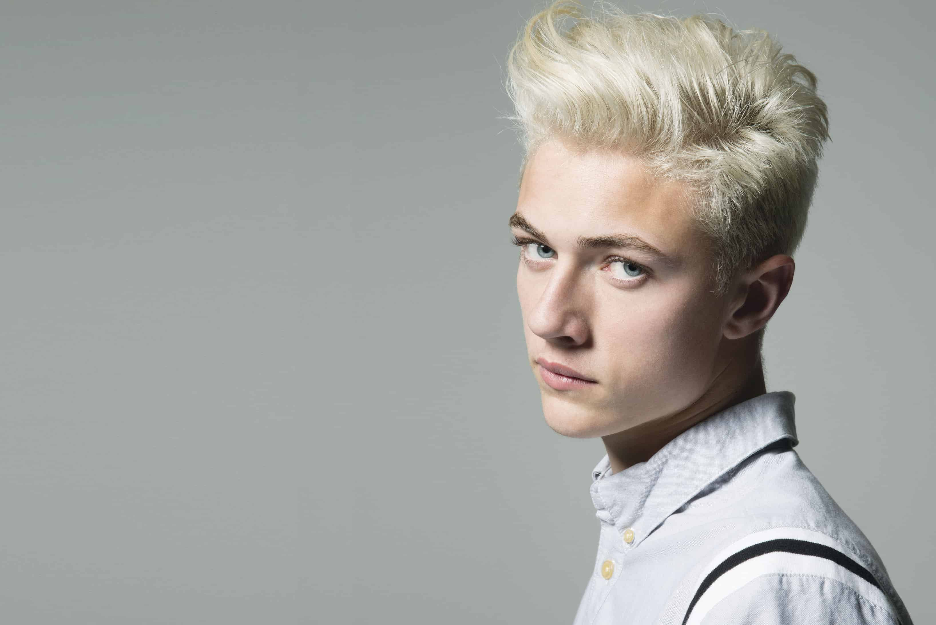 Cute Stylish Child Girl Wallpaper 80 Stunning Bleached Hair For Men How To Care At Home