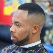 trendy taper fade afro haircuts