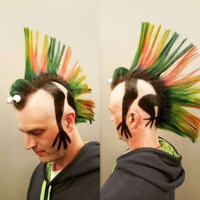 25 Best Head Turning Punk Hairstyles Add Some Sass 2018