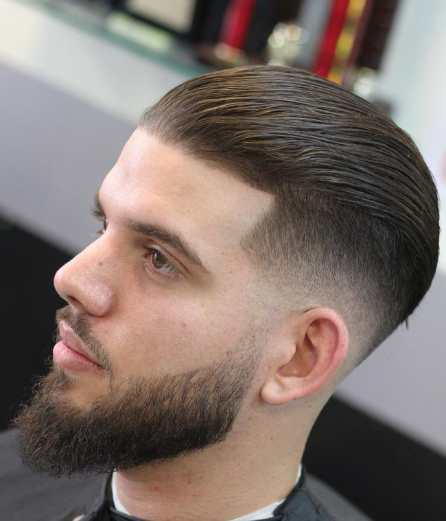 90 Powerful Comb Over Fade Hairstyles - (2021) Comb On Over!