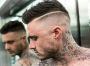 powerful comb over fade hairstyles