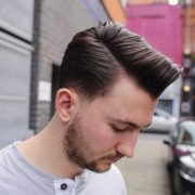 exclusive comb over taper haircuts