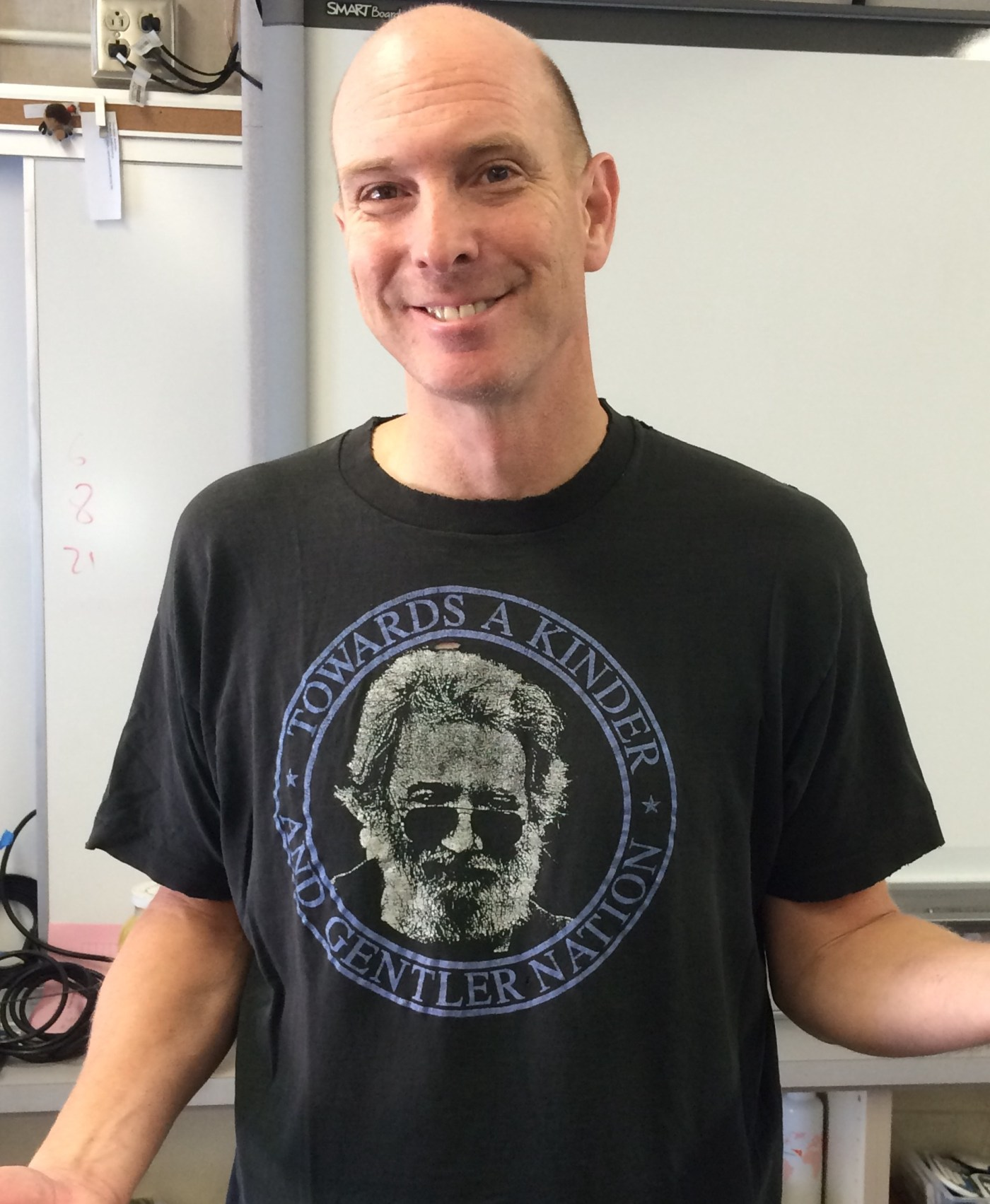 APES teacher Lance Powell is a huge Grateful Dead fan.