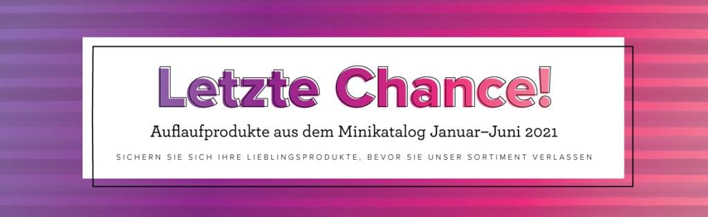 Letzte Chance / Ausverkauf Stampin' Up! Minikatalog