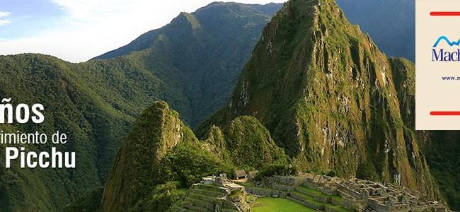 Aniversário de Machu Picchu