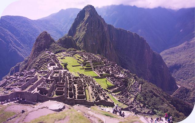 Machu Picchu, no Peru - Foto Divulgação Transamerica Mundi