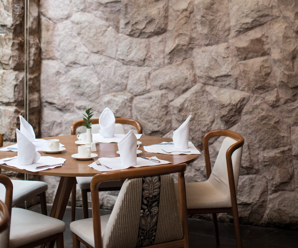 Restaurante Tampu, no Sanctuary Lodge