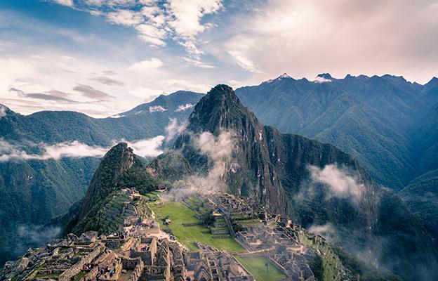 Machi Picchu, uma das Sete Maravilhas do Mundo