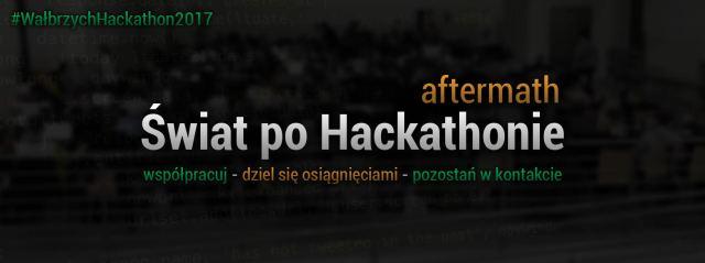 Świat po Hackathonie
