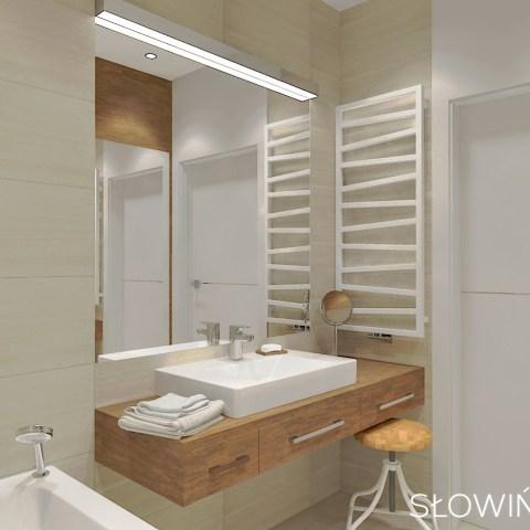 łozowa – łazienka i drzwi wejścowe