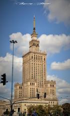 Warszawa, Pałac Kultury i Nauki, MDM, Cafe Nero, Piękna 18, Syrenka, Pl. Konstytucji. 30.08.2018. Fot. Maciej Załuski