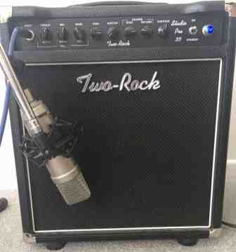 Two-Rock Studio Pro 35 - Fishman Fluence settings