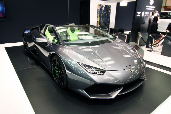 2016 Lamborghini Huracan Spyder, Auto Show