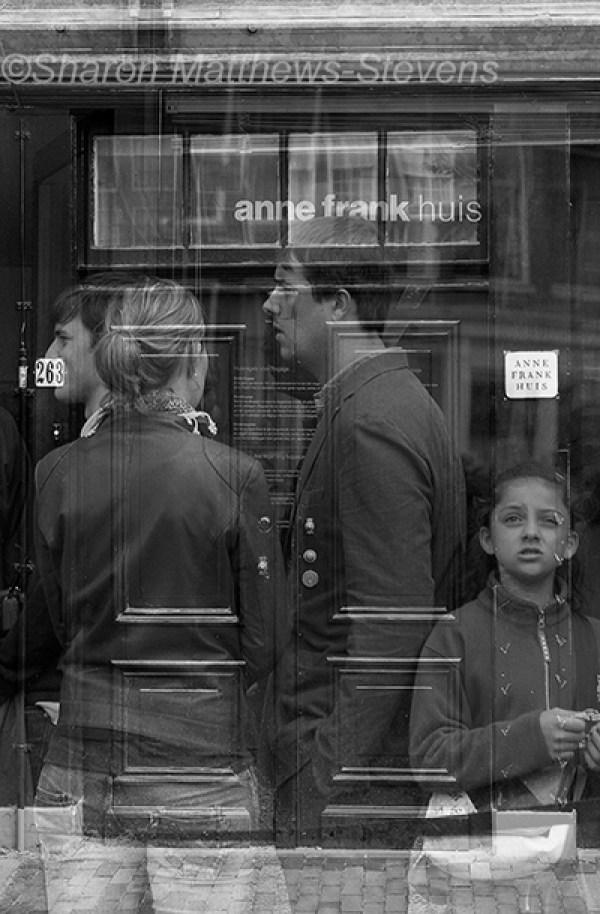 Street view, black and white, Sharon Matthews-Stevens