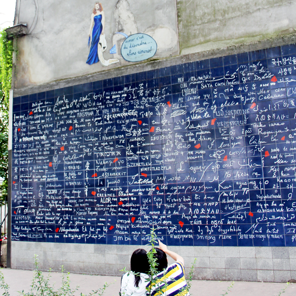 Le Mur Des Je t'aime, je t'aime, Montmartre, Romantico, I Love You, love you, love, Aime, Paris, France, Photo challenge