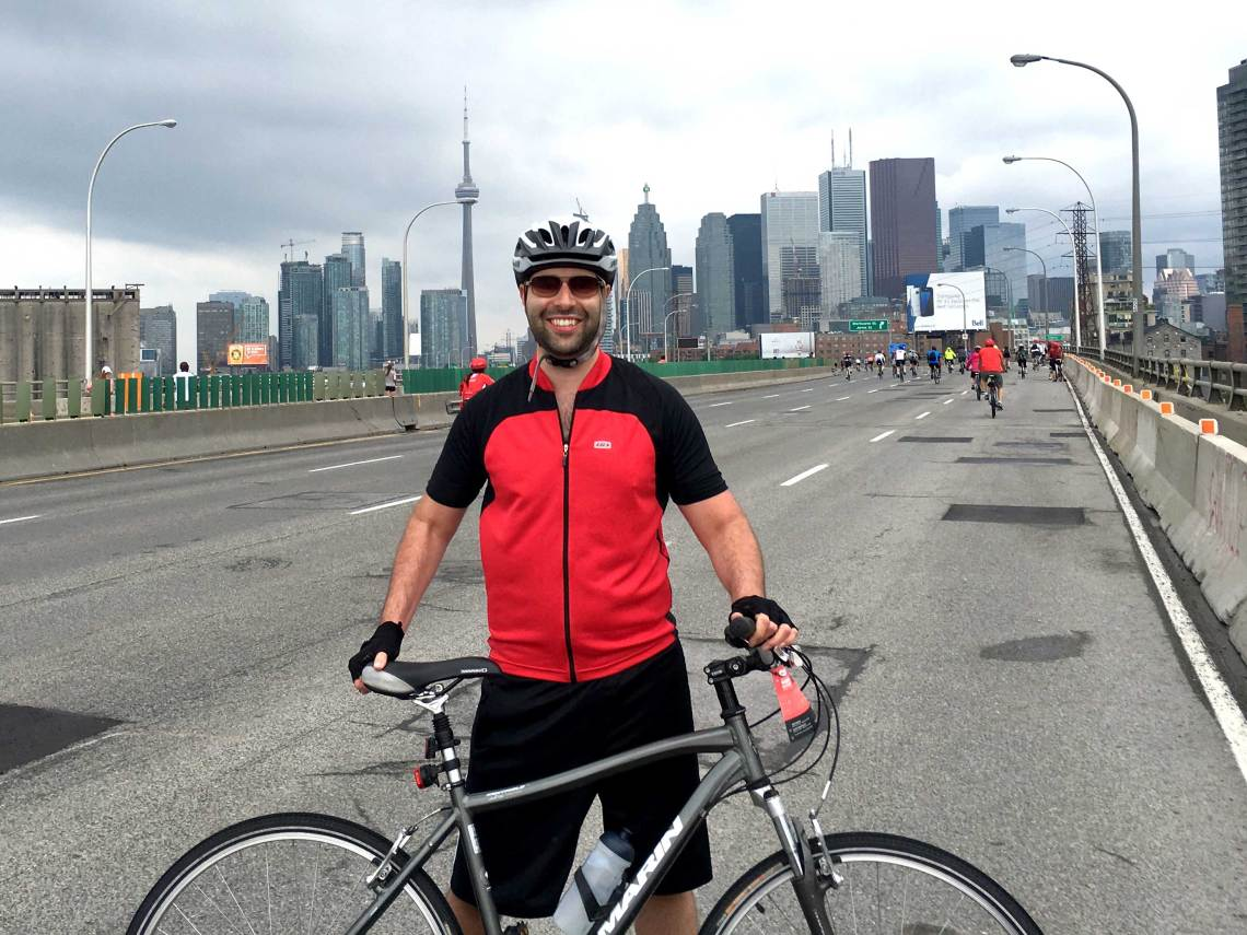 Ride for Heart, Jon MacIndoe, MacIndoe, Jonathan MacIndoe, CN Tower
