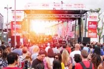 TD Salsa on St. Clair street festival