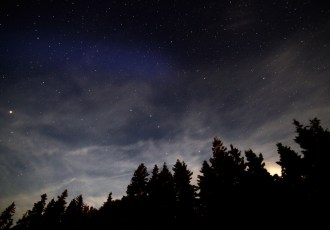 Stars, Nova Scotia, Trees, Clouds, Night sky, How to