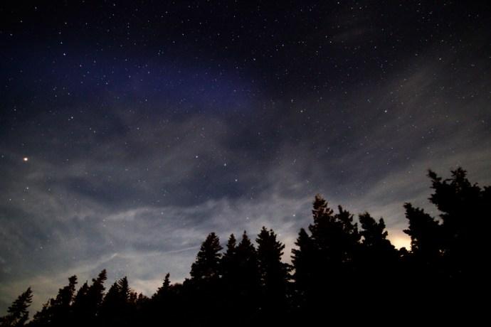 Stars, Nova Scotia, Trees, Clouds, Night sky, How to