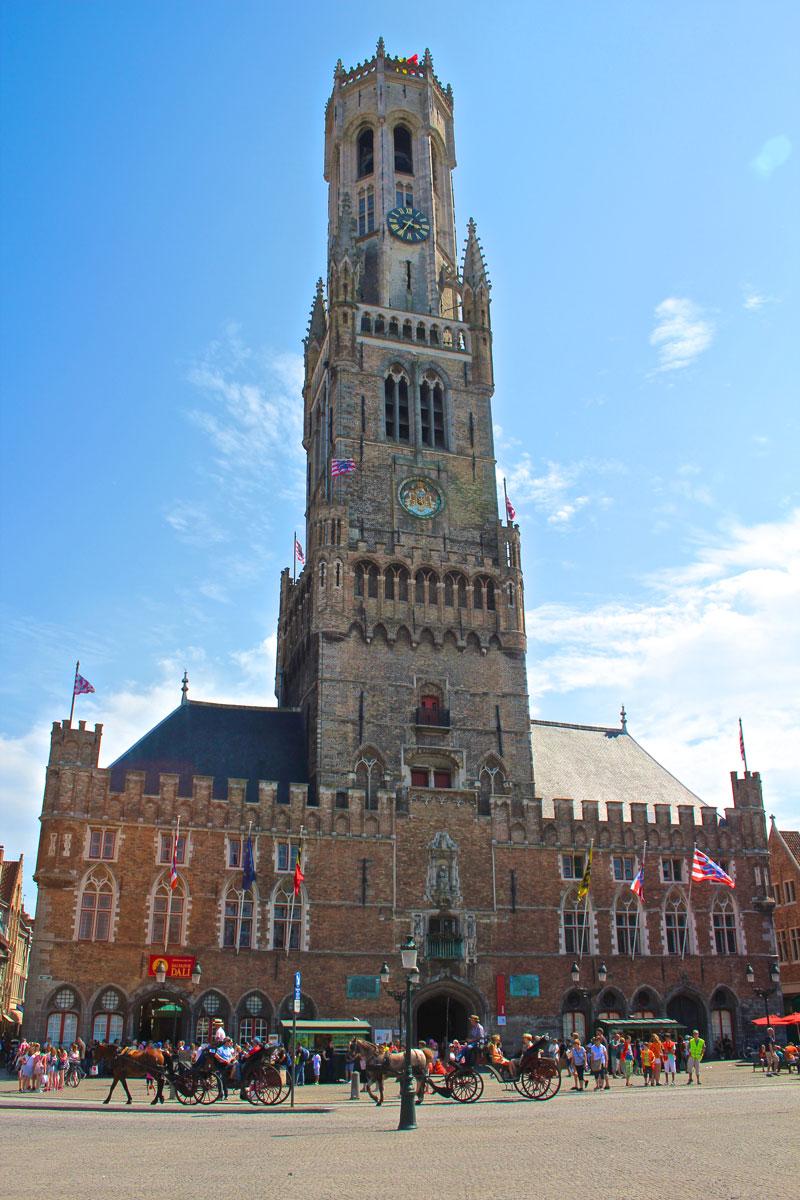 Bruges, Belfry, Market Square