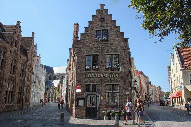 Bruges, Walking, Stone, Streets, Walking Tour, Gruuthuse Hof