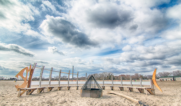 Fish, Beaches, Toronto, Wood, Fire, Toronto, Winter Stations, neighbourhood
