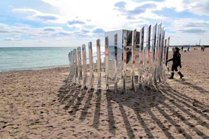 The illusory, Winter Stations, The Beaches, Toronto