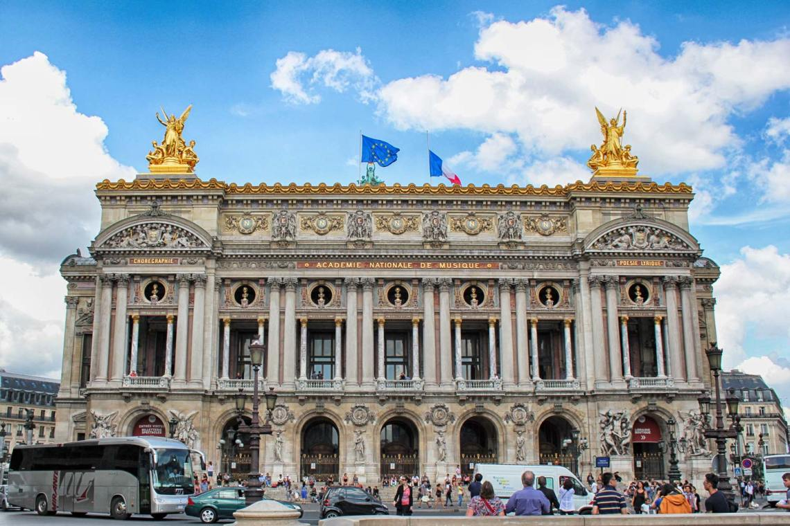 Palais Garnier, Street View, Paris, France, Opera