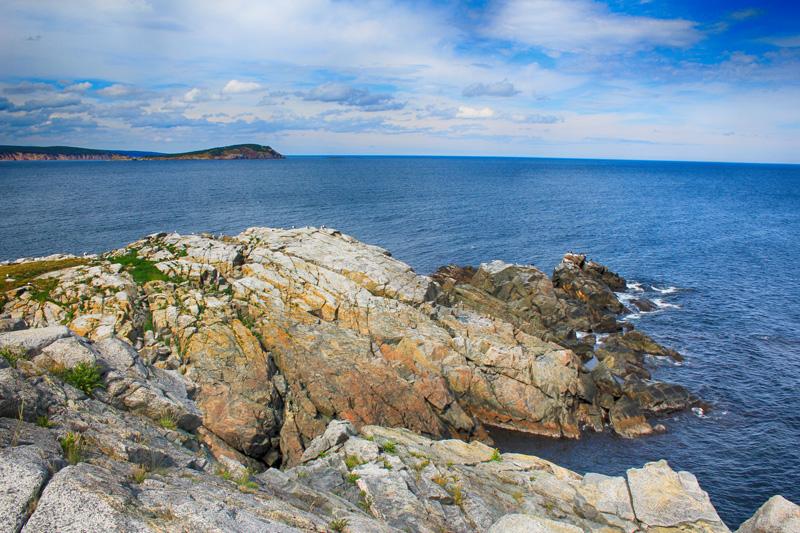 Middle Head, Rocks, Atlantic Ocean