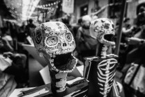 skeleton, Day of the dead, Toronto, Halloween