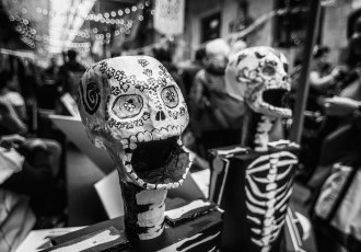 skeleton, Day of the dead, Toronto, Halloween