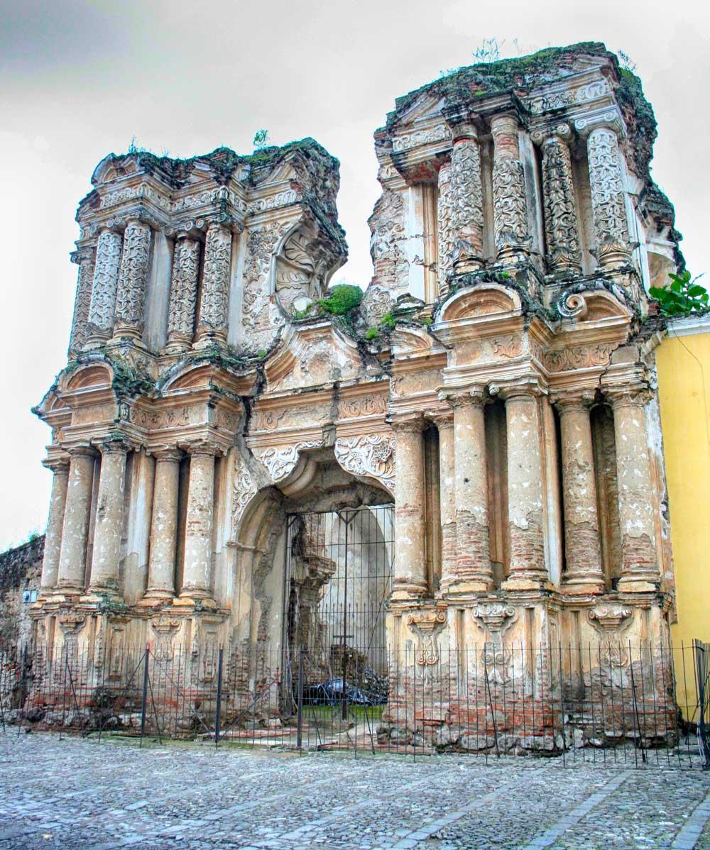 Ruins, Antigua, Guatemala, Rising