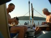 Happy days on board FD Lake Tanganyika