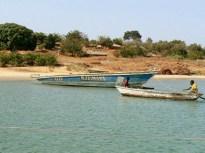 Beach scene midday stopover- Lake Tanganyika