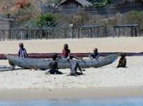 Beach scene midday stopover - Lake Tanganyika