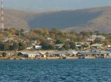 Mpulungu market and town
