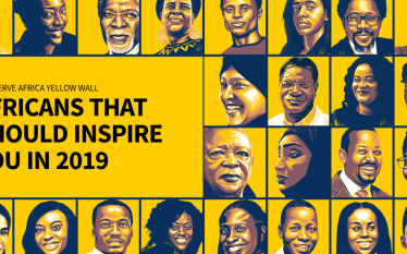 The Nerve Africa's #YellowWall List of Africans Who Should Inspire…