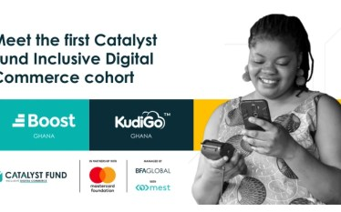 KudiGo & Boost Ghana Receives $120K from Catalyst Fund Inclusive…