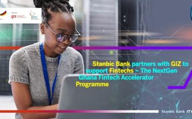 """Stanbic Bank & GIZ Partner For """"NextGen Ghana Fintech Accelerator""""."""