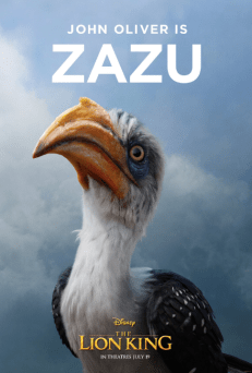 Lion King (2019) - Zazu