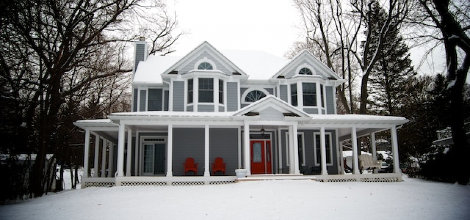 large home wrap around porch