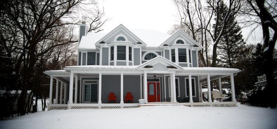 large home wrap around porch