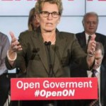 Ontario Premier Kathleen Can't Wynne on spelling CHRIS YOUNG / THE CANADIAN PRESS
