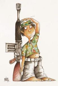 Los niños de la Guerra by Alfredo Martirena