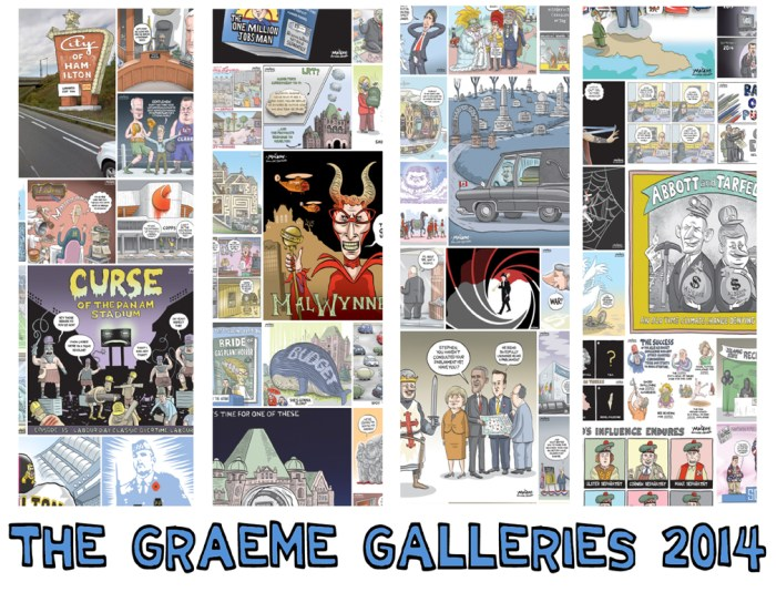 Graeme Galleries - Year in Review for 2014