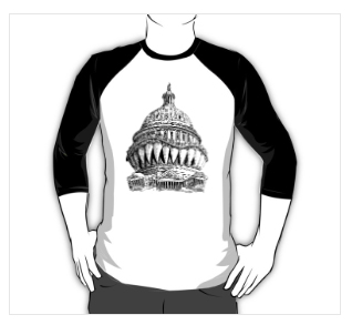 Angry Washington t-shirt