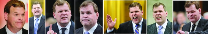 John Baird faces